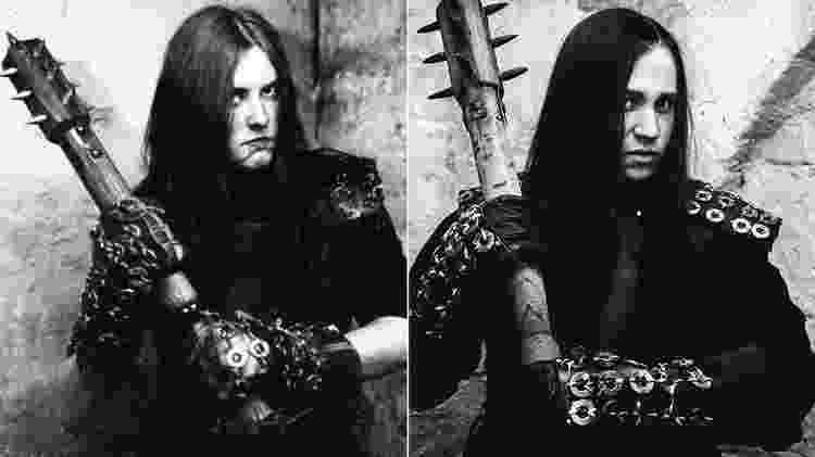 Varg Vikernes e o ator que o interpreta, Emory Cohen - Reprodução/Instagram