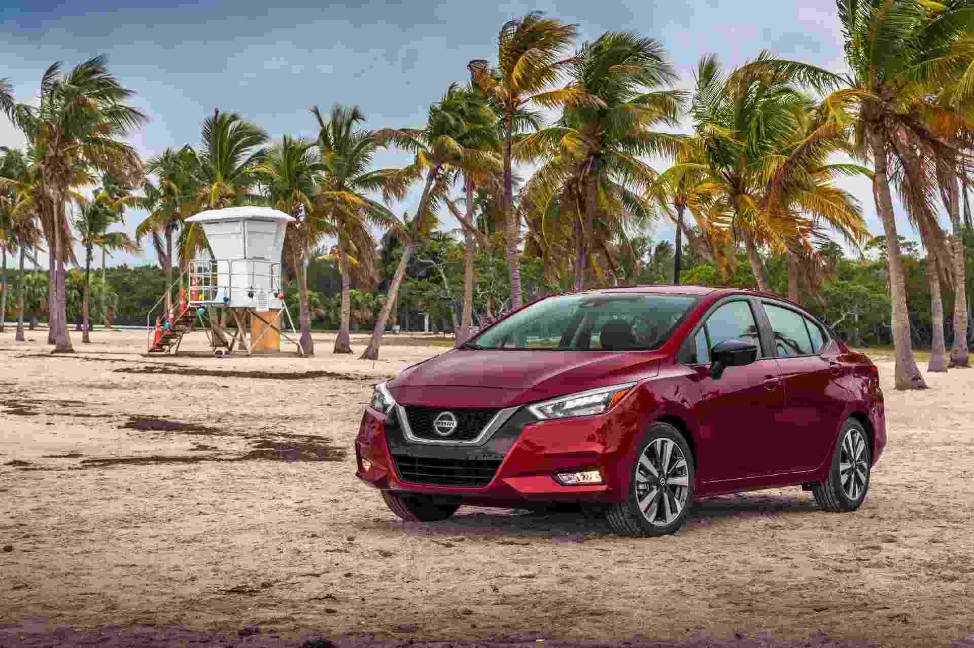 Nissan Versa 2020 - Divulgação