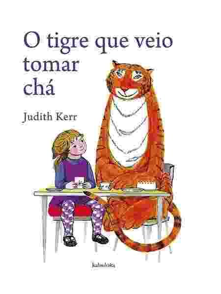 """Capa de """"O Tigre que Veio para o Chá"""" - Reprodução"""