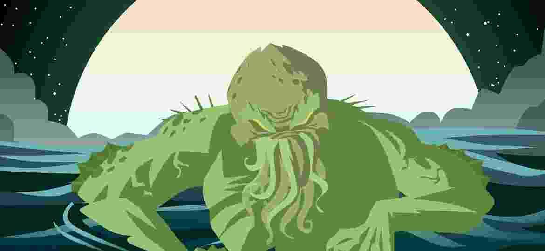 Ilustração Lovecraft - MatiasEnElMundo/iStock