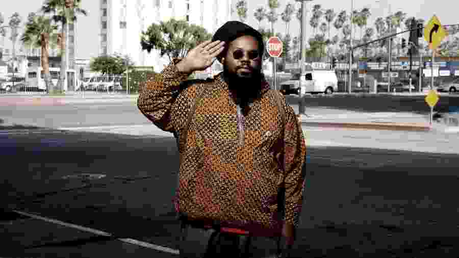 O produtor e DJ Ras G - Getty Images
