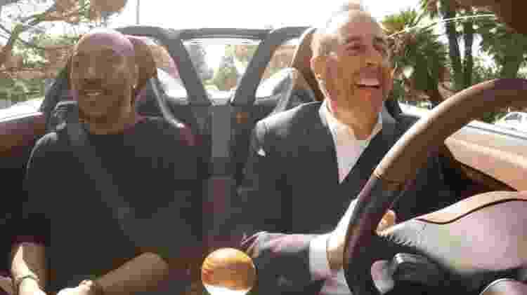 Eddie Murphy e Jerry Seinfeld em episódio de Comedians in Cars Getting Coffee - Divulgação