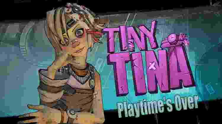 Tiny Tina parece inocente, mas é bem perigosa - Reprodução