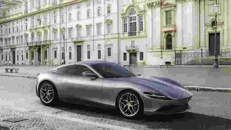 Ferrari Roma é o novo Gran Turismo da Ferrari, combinando luxo, conforto e performance - Divulgação