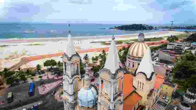 Catedral de São Sebastião, em Ilhéus - Márcio Filho/MTurDestinos