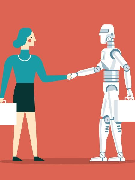 Robô vasculha projetos que tem a ver com direitos da mulher - istock