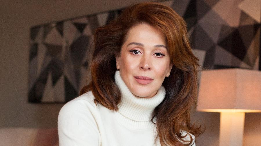 Claudia Raia falou sobre ser mãe novamente em conversa com Sabrina Sato - Tato Belline/Divulgação