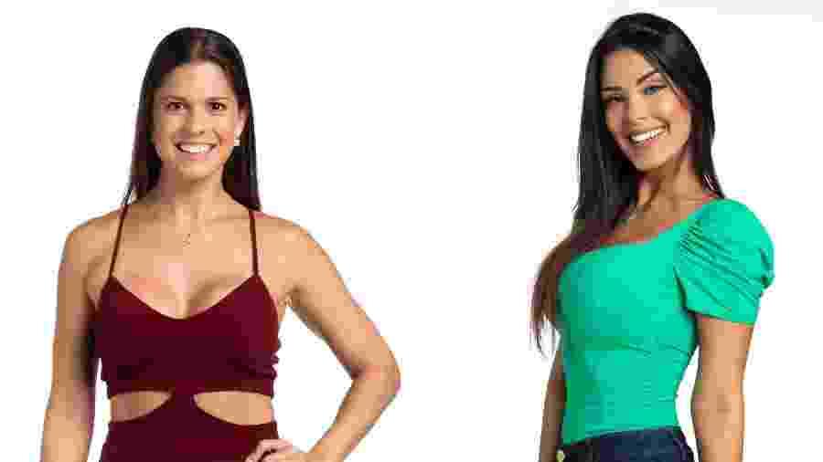 Renata Furtado e Ivy Moraes, participantes da Casa de Vidro no BBB 20 - Reprodução/Instagram