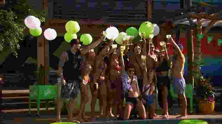 É só curtição em cena do terceiro episódio do 'De Férias com o Ex' - Divulgação/MTV - Divulgação/MTV