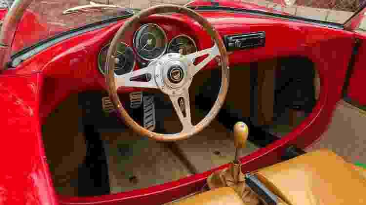 Chamonix Spyder 550 S Abraham Weintraub volante - Arquivo pessoal - Arquivo pessoal