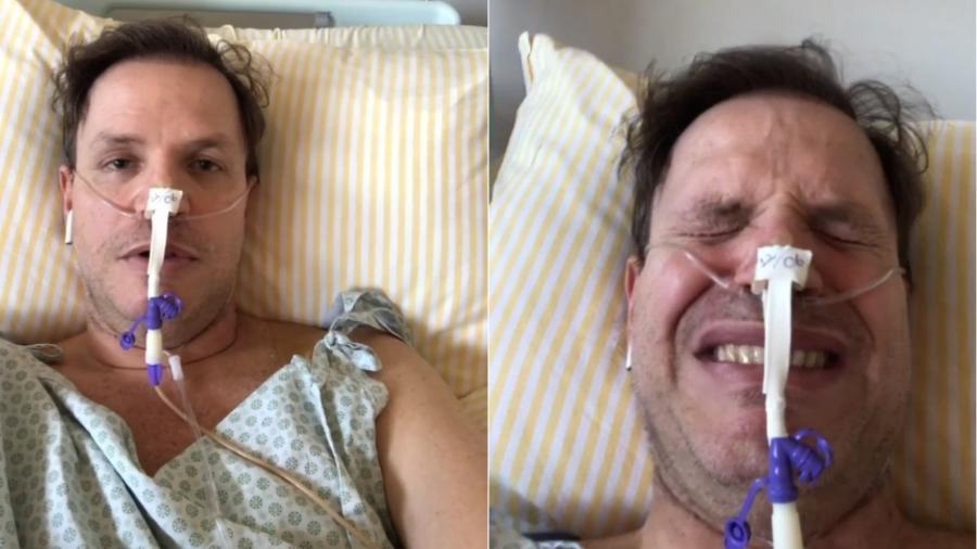 Alan Frank Schlang, ex-polegar, fala sobre internação com o coronavírus - Reprodução/Instagram