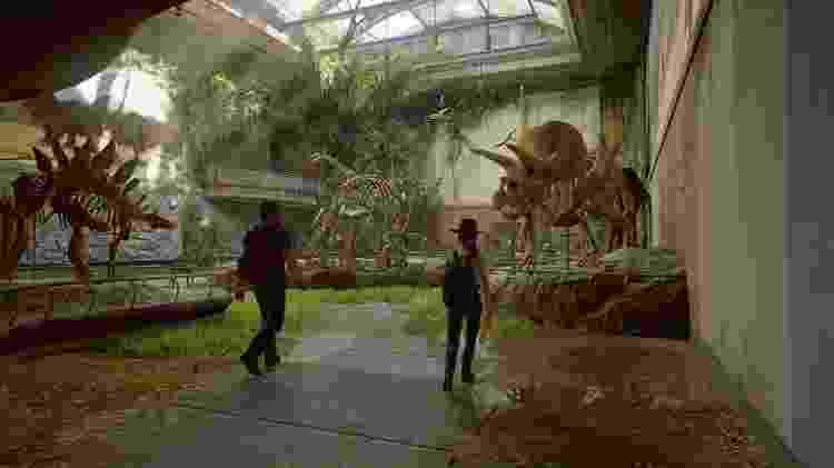 The Last of Us museu - Reprodução - Reprodução