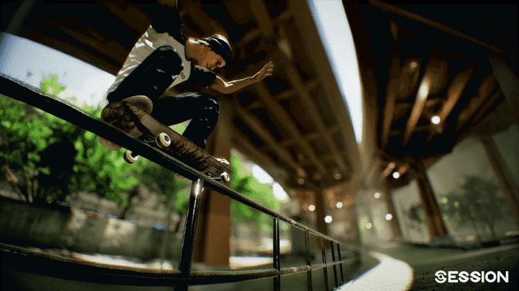 Session jogo skate - Divulgação - Divulgação