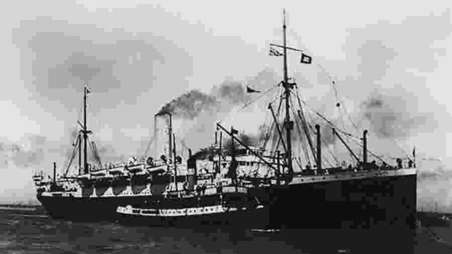 Demerara zarpou de Liverpool no dia 15 de agosto de 1918 e aportou no Recife, em 9 de setembro - Cia das Letras