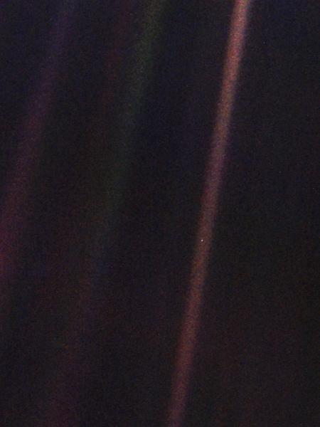 Encontre o planeta Terra na foto! -  Créditos: NASA/JPL-Caltech