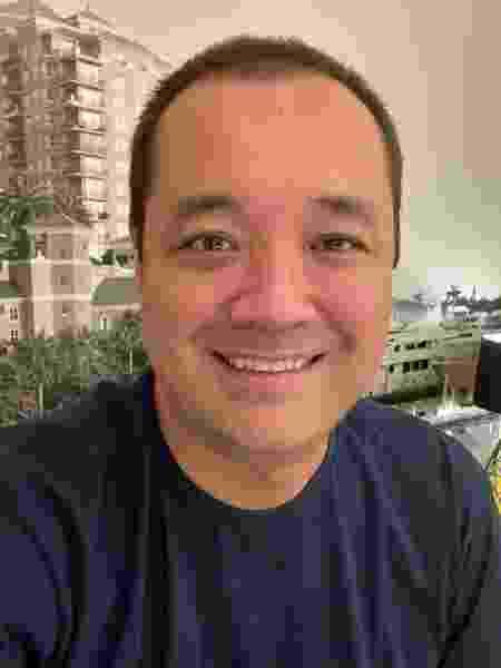 Rodrigo Paiva depois - Arquivo pessoal - Arquivo pessoal