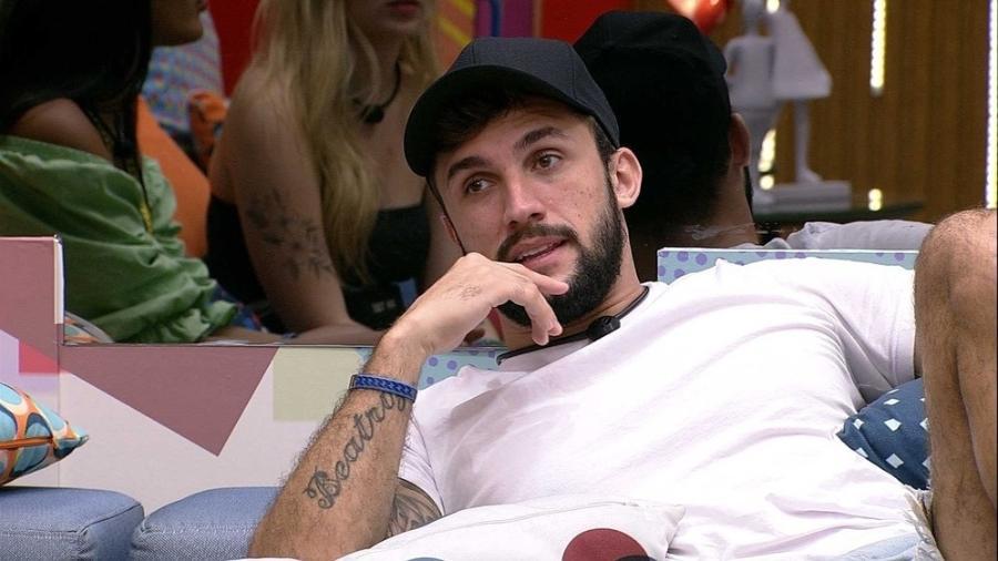 BBB 21: Arthur diz que Camilla de Lucas é sua opção de voto - Reprodução/Globoplay