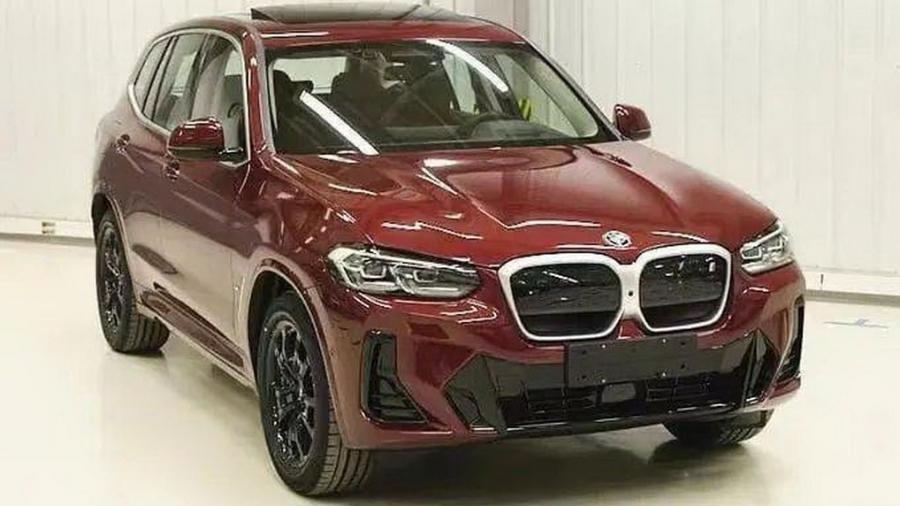 BMW iX3 2022 - Reprodução