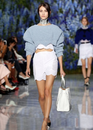A Dior desfilou em Paris nesta sexta-feira (2) - AFP