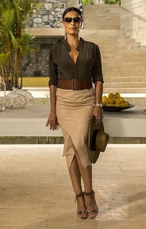 Juliana Paes é comparada à Kim Kardashian