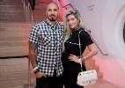 Nasce primeiro filho dos ex-BBBs Aline e Fernando - Roberto Filho / Brazil News
