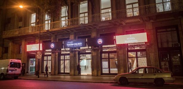 Fachada reformada do Teatro Coliseo, na capital argentina - Enrico Fantoni/Divulgação