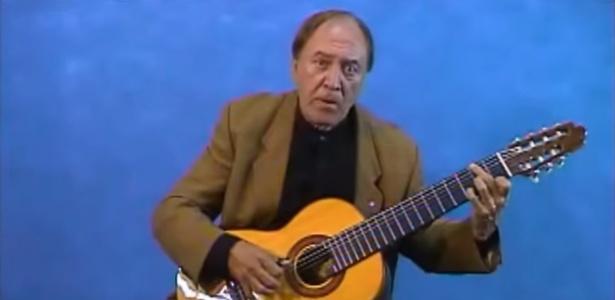O violonista Ventura Ramirez, ex-integrante do grupo Demônios da Garoa - Reprodução