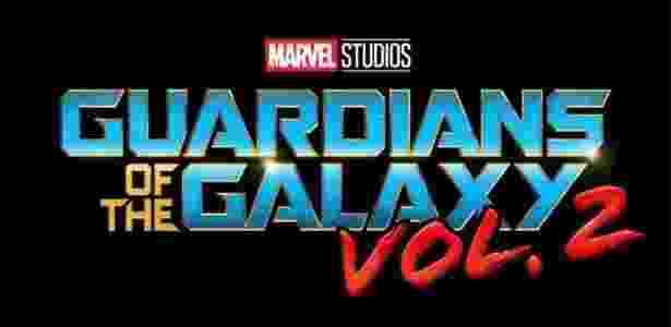 """Logo do filme """"Guardiões da Galáxia Vol. 2"""", da Marvel, que estreia em maio de 2017 - Reprodução - Reprodução"""