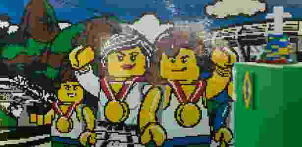 Casa LEGO, na praia de Ipanema - Ari Versiani/Ag.Ponto - Ari Versiani/Ag.Ponto