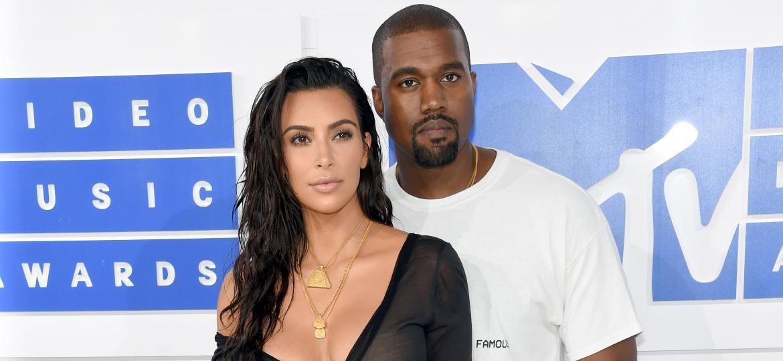 MTV VMA 2016: Kim Kardashian e Kanye West - Getty Images