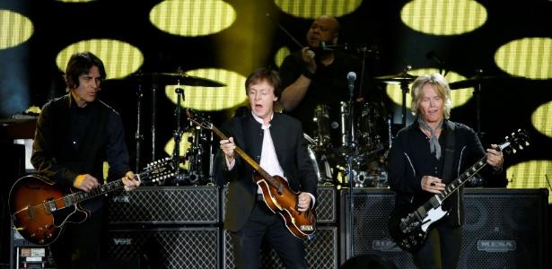 """Paul McCartney, mulheres no mercado de trabalho e filme """"Menina de Ouro"""" - Mario Anzuoni/Reuters"""