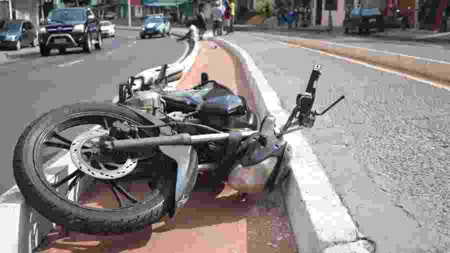 Seguro DPVAT indeniza vítimas de acidente de trânsito; maior parte das indenizações vai para motociclistas - Romildo de Jesus/Futura Press/Folhapress