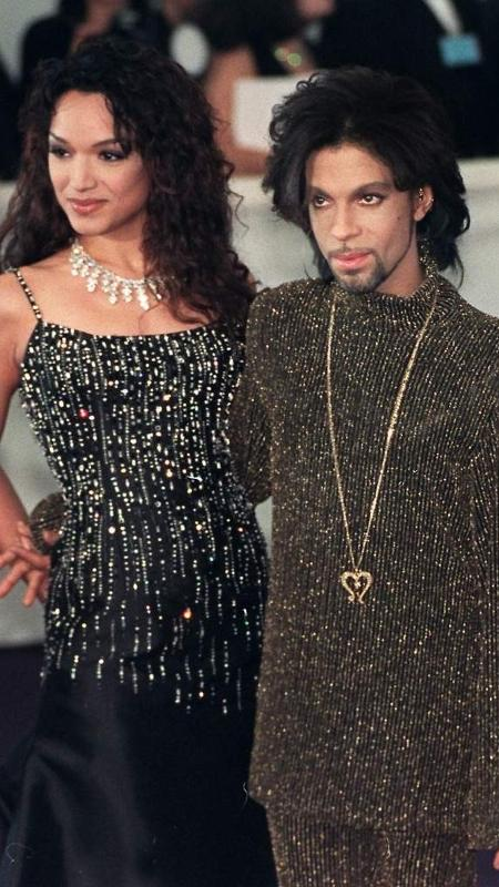 Mayte Garcia e o cantor Prince - Getty Images