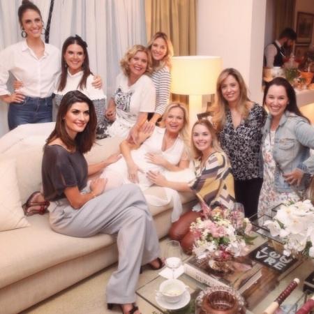 Eliana recebe amigas famosas em chá de bebê - Reprodução/Instagram/eliana