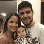 Maria Cecilia e Rodolfo com Pedro, filho deles - Reprodução/Instagram/mariaceciliaerodolfo