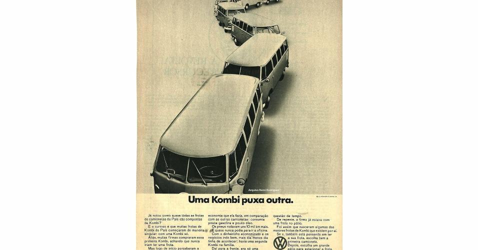 Anúncio Volkswagen Kombi