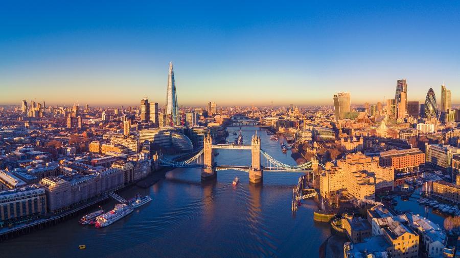 Vista Aérea Londres - Getty Images