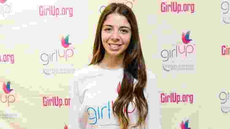"""Sarah Gale, ativista da """"Girl Up"""", organização das Nações Unidas - Divulgação/ONU - Divulgação/ONU"""