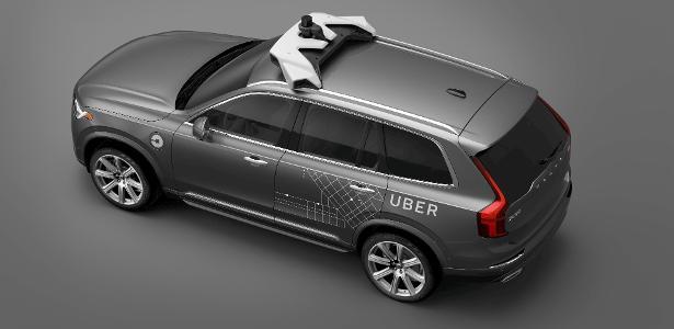 Carros autônomos do Uber são testes da companhia para o futuro