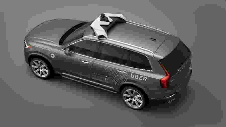 Carros autônomos do Uber são testes da companhia para o futuro - Divulgação