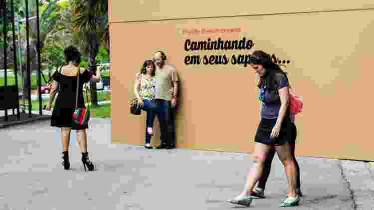 Museu da Empatia, no parque Ibirapuera - Felipa Porto/Divulgação - Felipa Porto/Divulgação