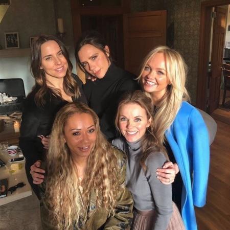 Spice Girls se reúnem em foto - Reprodução/Instagram
