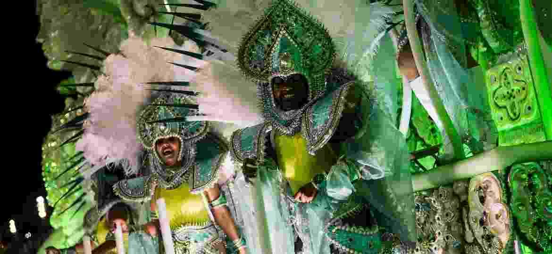 Mocidade homenageia Índia em desfile - Bruna Prado/UOL