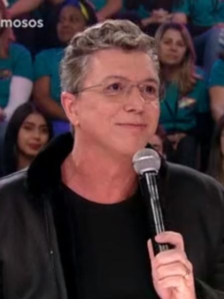 Boninho se estranha com Falabella - Reprodução/TV Globo