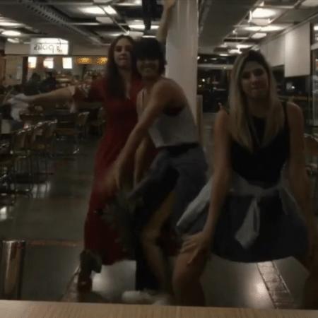 Nanda Costa, Dani Calabresa e Debora Lamm arrasam na dança - Reprodução/Instagram