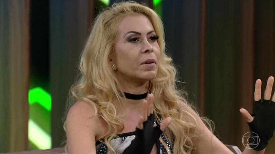"""Joelma no """"Conversa com Bial"""" - Reprodução/Globoplay"""