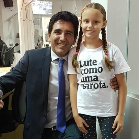Vereador Júnior Geo e Maria Luiza - Instagram
