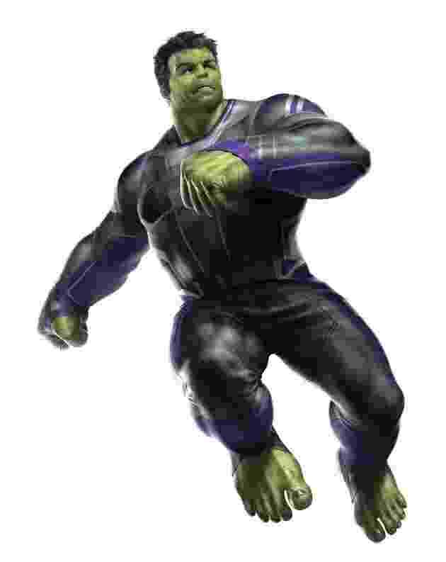 """Arte de """"Vingadores 4"""" - Hulk - Reprodução"""