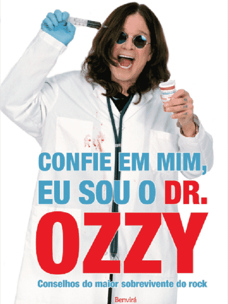 """Capa de """"Confie em Mim, Eu sou o Dr. Ozzy"""" - Divulgação - Divulgação"""