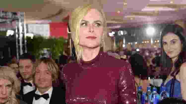 """Nicole Kidman e a """"moça da água"""", """"papagaio de pirata"""" favorito da internet - Reprodução/Twitter"""
